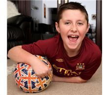 Connah Broom was four years old when he was diagnosed with stage 4 neuroblastoma back in 2006.  Doctors found tumors stretching from his neck, down his chest into his left leg.   He was not expected to live past the age of five.  His grandparents researched and employed a variety of alternative therapies reducing his 11 tumors to only one.