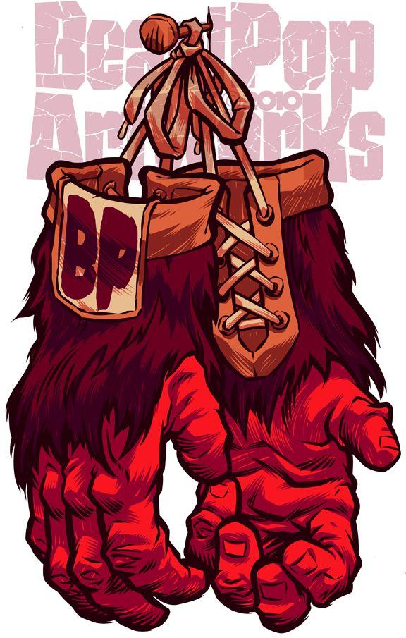 BeastPop Gorilla Gloves Design by pop-monkey on deviantART