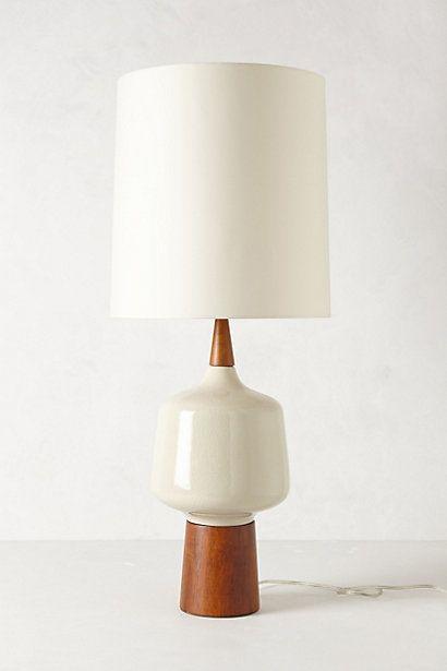 Crackled Porcelain Lamp Ensemble