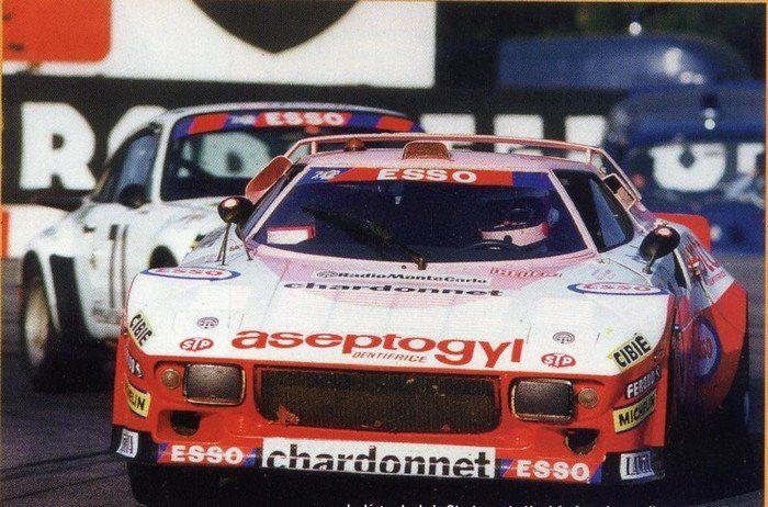 1976 Lancia Stratos Turbo Ferrari (2.418 cc.) (T) Lella Lombardi Christine Dacremont