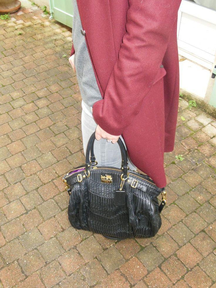 Manteau - IKKS // Pull - Gap // Jeans - H&M // Boots - Acne // Sac - Coach