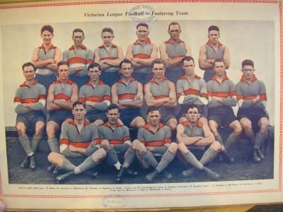 Footscray Football Club 1928