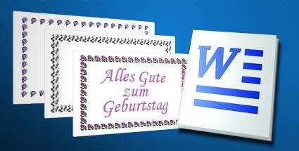 Word bringt dekorative Seitenränder von Haus aus mit. (Quelle: t-online.de)