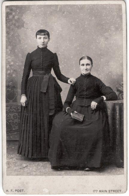 """""""Two Dutch Women: 1895"""""""
