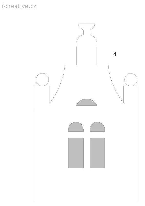 vystřihovánka dům
