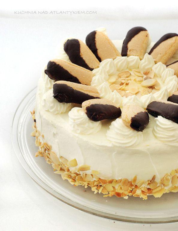 Malakoff-Torte czyli wiedeński specjał na blogowe urodziny