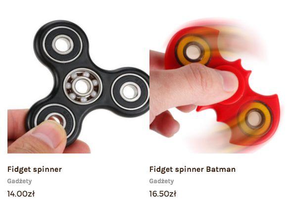 Opakowania do wina i kosze prezentowe dla Firm: Batman fidget spinner sklep