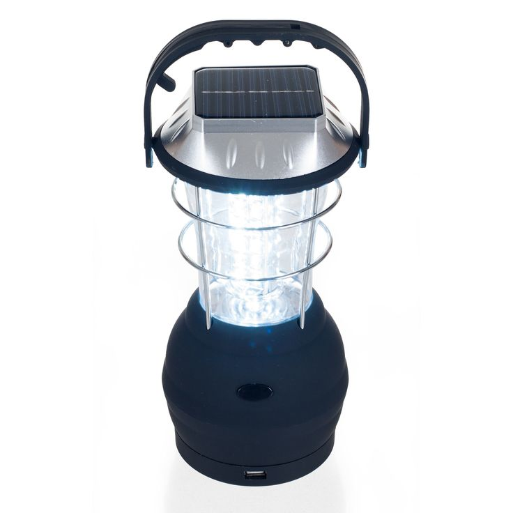Whetstone 36 LED Solar and Dynamo Powered Camping Lantern