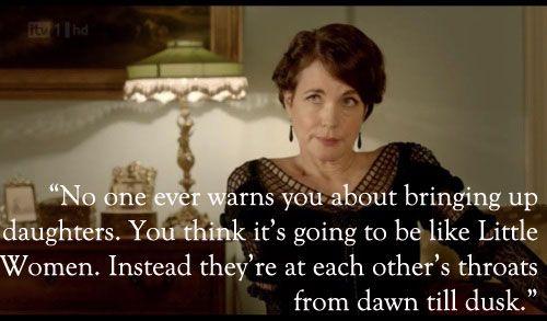 Lady Cora, Downton Abbey