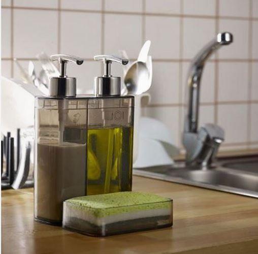 Sıvı sabunluklar mutfaklar için önemli aksesuarlardır. Göz önünde olmaları nedeniyle dekoratif olmaları önemlidir. Eğer güzel bir sabunluk modeli arıyorsanız bu modeli ve benzerlerini K