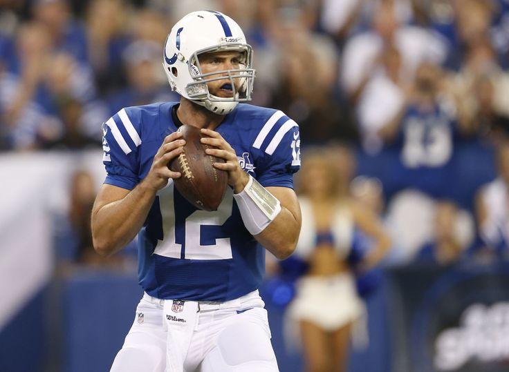 Andrew Luck - took him the first 5 or 10 minutes of the game to get his head straight but after that, he was a golden QB!