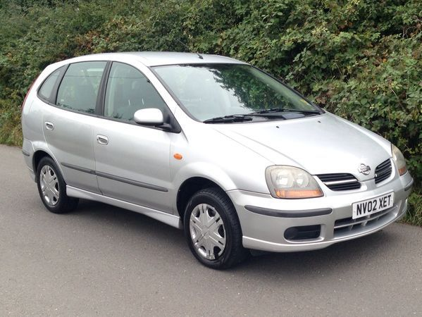 2002 (02) Nissan Almera Tino 1.8 Twister - px to clear - cheap MPV For Sale In Stoney Stanton, Leicestershire