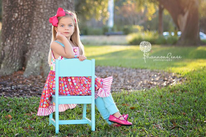 Miss A's 5 Year Old Birthday Session!