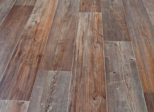 Brown and gray linoleum flooring rv pinterest stains for Linoleum wood flooring