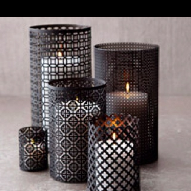 Bright Ideas How To Make Aluminum Lanterns Create Your Own Unique Moroccan Style Luminarias In Just A Few Simple Step Aluminum Sheets Decor Candle Luminaries