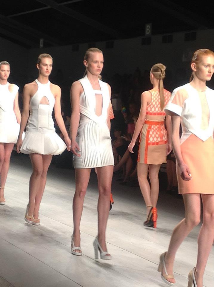 Vita Liberata Skin Finishing @ David Koma - London Fashion Week