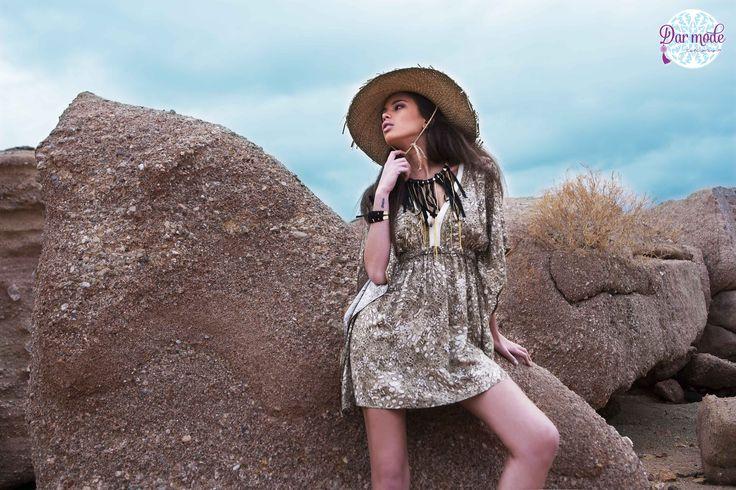 Tunic Skiathos・Salt in the air Sand in my hair lookbook