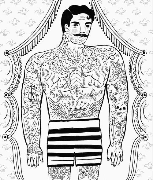 An inked fellow By Sarah Walsh// IL MIO UOMO IDEALE, BASTA CHE NON SIA UN DUCATISTA....