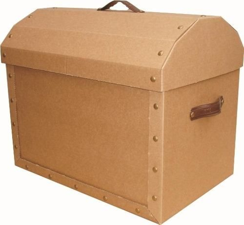 Caja De Carton Cofre De Morgan Mediano 44x28x36 - $ 115,50 en ...