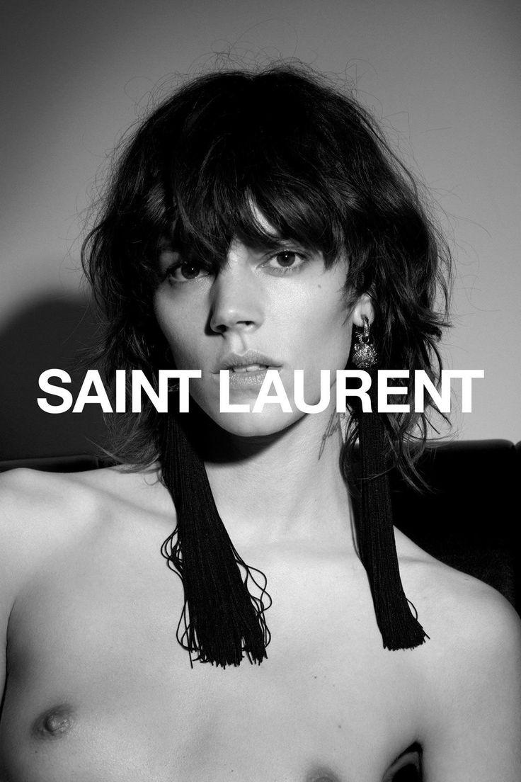 Alta Costura: Campaña primavera-verano 2017 de Saint Laurent muy Sexy y Atrevida... Anthony Vaccarello (nuevo director creativo de la marca) busca la máxima provocación con su última campaña.