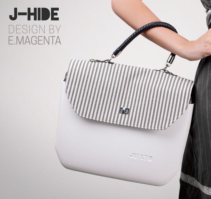 J-HIDE, rigida, elegante e compatta, nasce da un design pulito ed innovativo che la rende perfetta per tutte le donne che amano essere sofisticate senza rinunciare alla comodità.