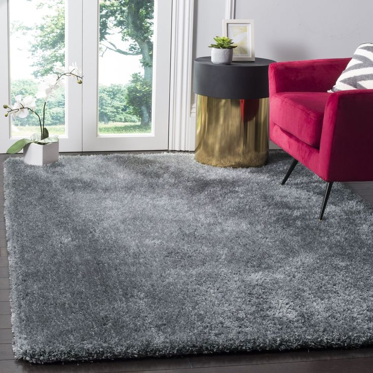 safavieh toronto handmade dark grey shag rug 8u0027 x 10u0027 sgtw711f