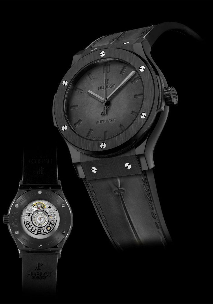 Montre Hublot Classic Fusion Berluti All Black