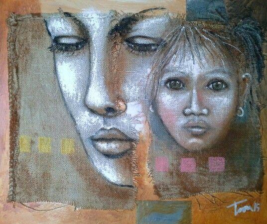 Ricordi  70x50 cm Luigi Torre painter 2015