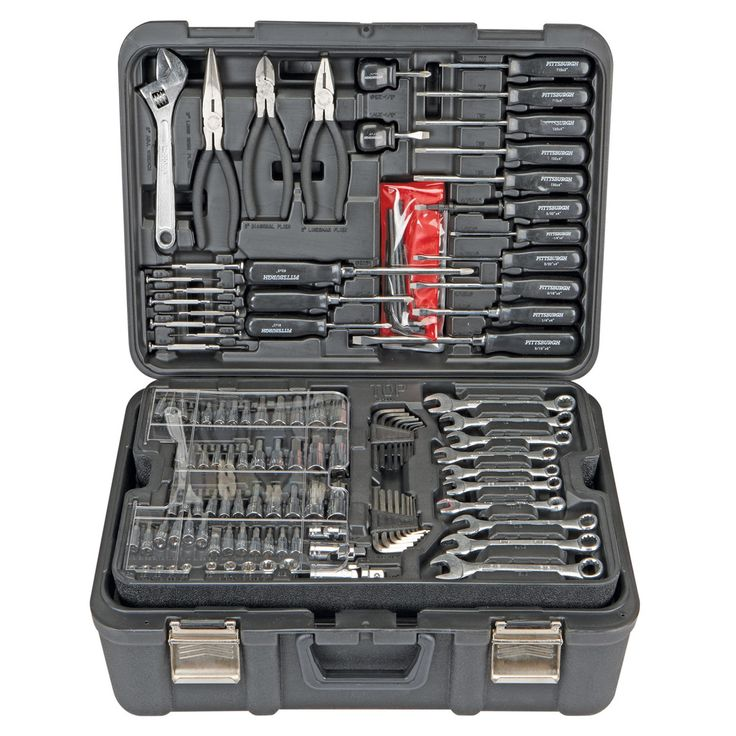 Professional 301 Piece Mechanic S Tool Kit Sae And Metric