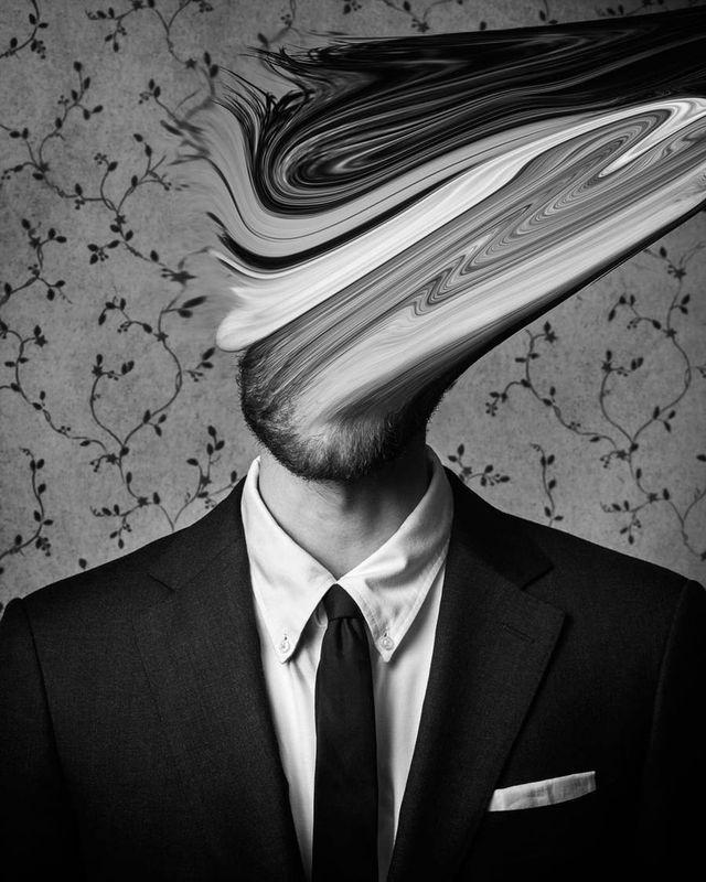 Depression Illustrated through Surreal Self-Portraits
