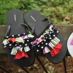 cute flip flop covers you can diy
