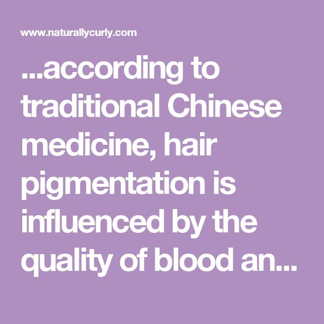 ...according to traditional Chinese medicine, hair pigmentation is influenced by the quality of blood and the strength of the kidneys. ...[also] fight tumors, detoxifier, help fight cancer cells, blood builder...