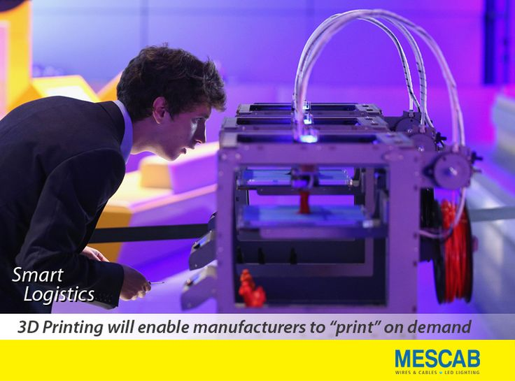 3D Printing technology will shorten the supply chain by making it unnecessary to have large quantities of finished products stacked in warehouses. SmartLiving Mescab