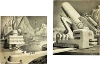 21st century machinery, story illustration by Alexander Leydenfrost