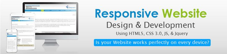 Responsive web design is the future of your business. Grow your #business with us