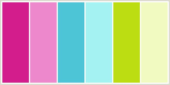color combination generator: click on a color and the site will propose other colors to befriend it.
