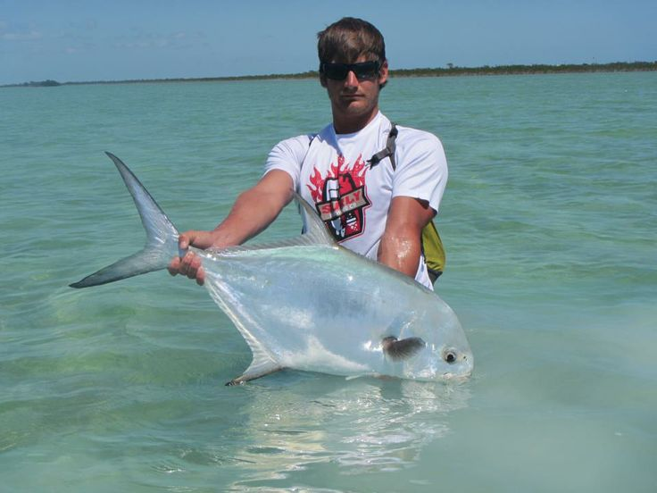 Permit taken on a blue crab fly in the fl keys back for Blue crab fishing