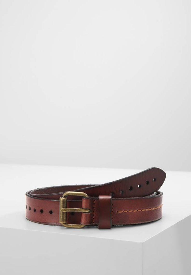 Marc O'Polo. Cintura - cognac. Composizione:100% Pelle. Chiusura:Fibbia. Larghezza:2.8 cm nella taglia 95. Fantasia:monocromo