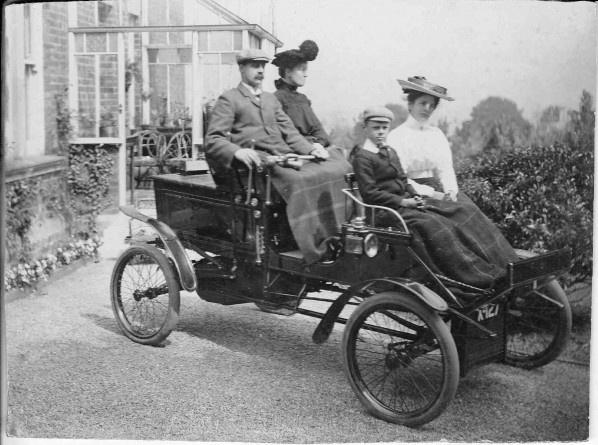 Steam powered car (1902) | Steam power | Pinterest | Cars ...