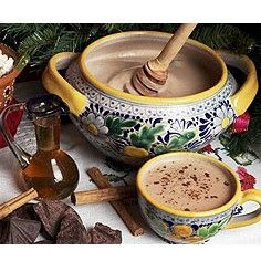 Mexican Champurrado is a special hot chocolate thickened with masa and flavored with piloncillo and aniseed.