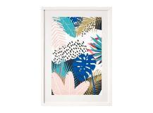 Tropical Leaves, Framed Print