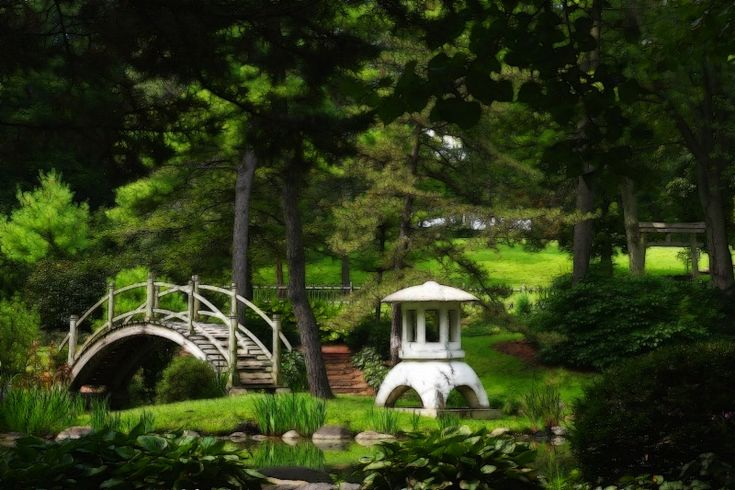 I want this garden!  Japanese Garden, Fabyan Park, Illinois