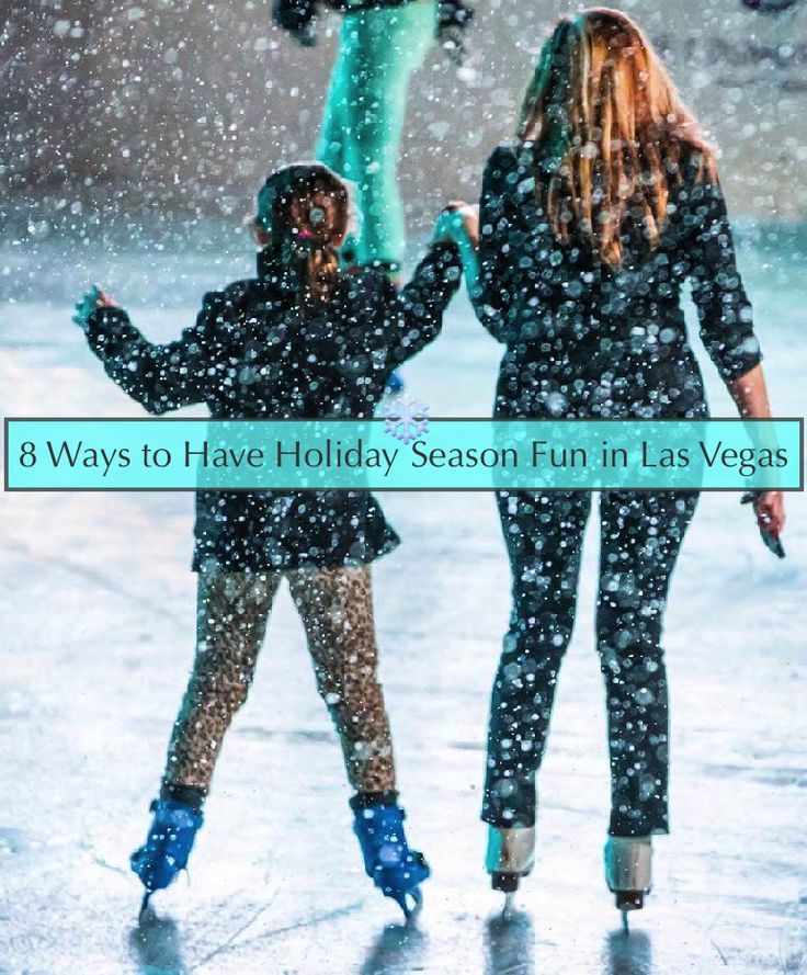 Las Vegas turns on its wintery charm during the holiday season with ice skating, snow flurries, gingerbread and even a magic forest. Not to mention Santa Claus. @stefanie van Aken tells us all. #lasvegas #travel #kids #holidays