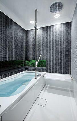 FRP浴槽 ハーフバス08 | TOTO ハーフユニットバスのデザインバリエーションが豊富に。