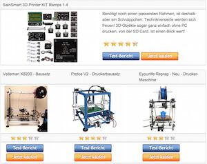 3D Drucker Bausatz - Vergleichstabelle unserer Testsieger ›  3D Drucker selber bauen - http://www.bester-3d-drucker.com/vergleichstabelle-unserer-testsieger-3d-drucker-bausatz/