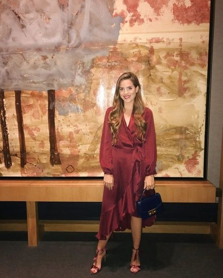 Daily Look 10.5.17 | A Night Out in Burgundy #GalMeetsGlam #DailyLook #Burgundy … – Shop The Look