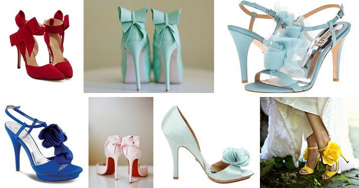 Mocny akcent kolorystyczny - Idealne buty ślubne dla Panny Młodej
