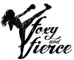Foxy and Fierce - Purchased 10 Kickboxing classes today on Gilt!  Can't Wait
