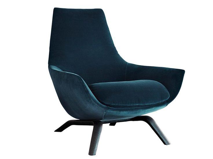 Le Retour Du Velours! Faites Les Monochromatique ! Blue ChairsLounge  ChairsVelvet ...