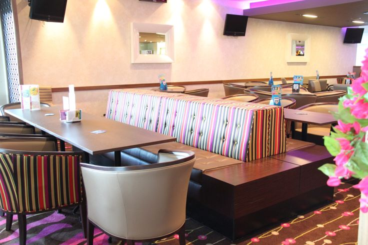 banquet and booth seating by Eurofurn.  We specialise in hospitality and commercial settings.